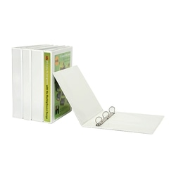 Marbig Binder Insert 3D A4 25mm White Each