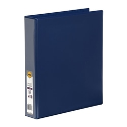Marbig Clearview Insert Binder A4 38mm 4d Blue
