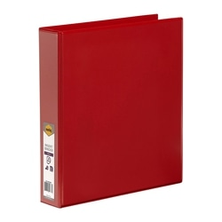 Marbig Clearview Insert Binder A4 38mm 4d Red