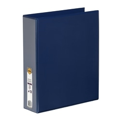 Marbig Clearview Insert Binder A4 50mm 4d Blue