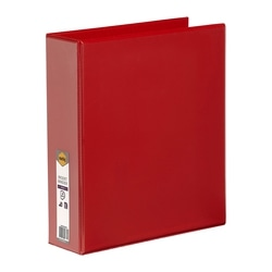 Marbig Clearview Insert Binder A4 50mm 4d Red