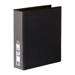 Marbig Clearview Insert Binder A4 50mm 4d Black