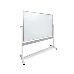 Vista Whiteboard 1500mm X 1200mm Mobile Pivot    ***Freight Charges May Apply***