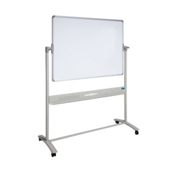 Vista Whiteboard 1800mm X 1200mm Mobile Pivot   ***Freight Charges May Apply***
