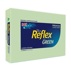 Copy Paper A4 80gsm Reflex Colour Green Ream of 500 sheets