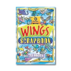 Olympic 325 144 Page Wingsscrap Book 335x240mm