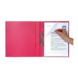 Colourhide Bindermate Letter File A4 Clear
