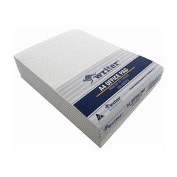 Writer A4 Ruled Bank White 100 Leaf Office Pad