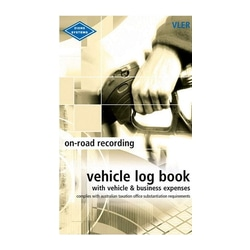 Zions Vehicle Log & Expenses Book Vler