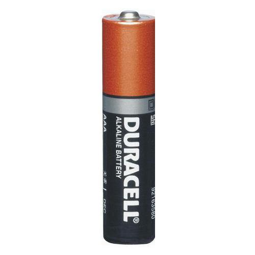 Duracell Alkaline Battery AAA 1.5v Sold Each (24)