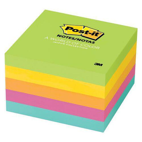 Post-It Notes Jaipur Collection 76mm X 76mm 654-5uc 5 Pack