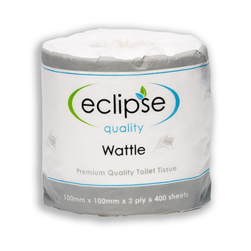 Eclipse Toilet Paper 2ply 400 sheets/Roll Box of 48 Rolls
